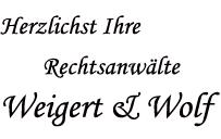 Ihre Rechtsanwälte Weigert & Wolf